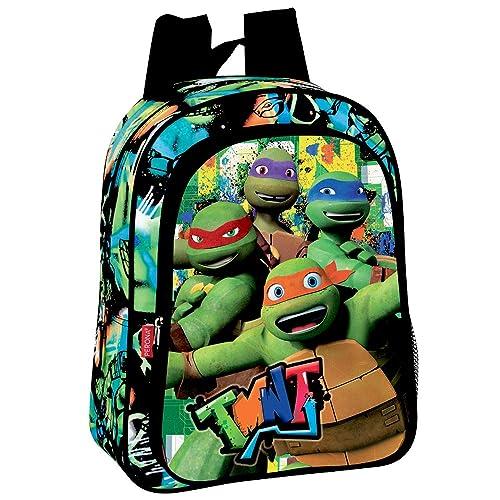 Tennage Mutant Ninja Turtle Drawstring backpack Sport Gym Bag for Kids Green