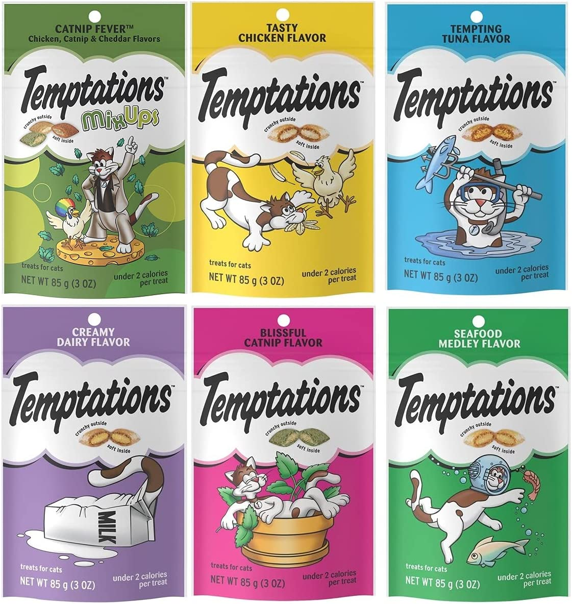 Supreme Box Cat Limited price sale Treats Variety Cats.6 Seafood for Flavors: Ranking TOP7 Pack