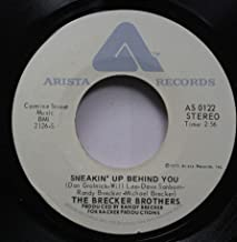 The Brecker Brothers 45 RPM Sneakin'' Up Behind You / Sponge