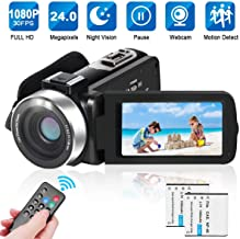 LAIDUOAO 2.7K Video Camera Digital Camera Vlogging Camera...