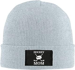 Hockey Mom Winter Beanie Hat Knit Hat Cap for Men & Women