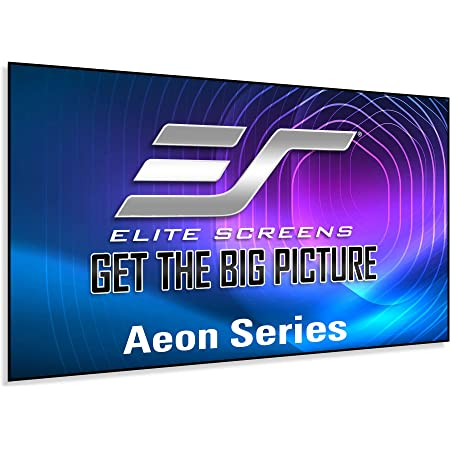 Amazon Com Elite Screens Aeon Series 120 Inch 16 9 8k 4k Ultra Hd Home Theater Fixed Frame Edge Free Borderless Projector Screen Cinewhite Uhd B Front Projection Screen Ar120wh2 Home Audio Theater