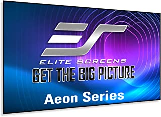 Elite Screens Aeon Series, 100-inch 16:9, 8K / 4K Ultra HD Home Theater Fixed Frame Edge Free Borderless Projector Screen,...