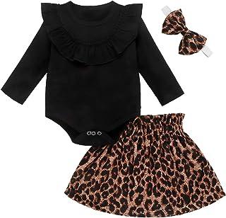 Body con Volantes y Pantalones Cortos de Leopardo Longfei Mamas Bestie Mamas Bestie