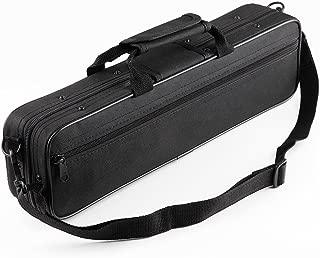 Vangoa Waterproof Carrying Padded Flute Gig Bag Flute case for 16 Holes Flute C Foot Flute with Adjustable Single Shoulder Strap and exterior pocket
