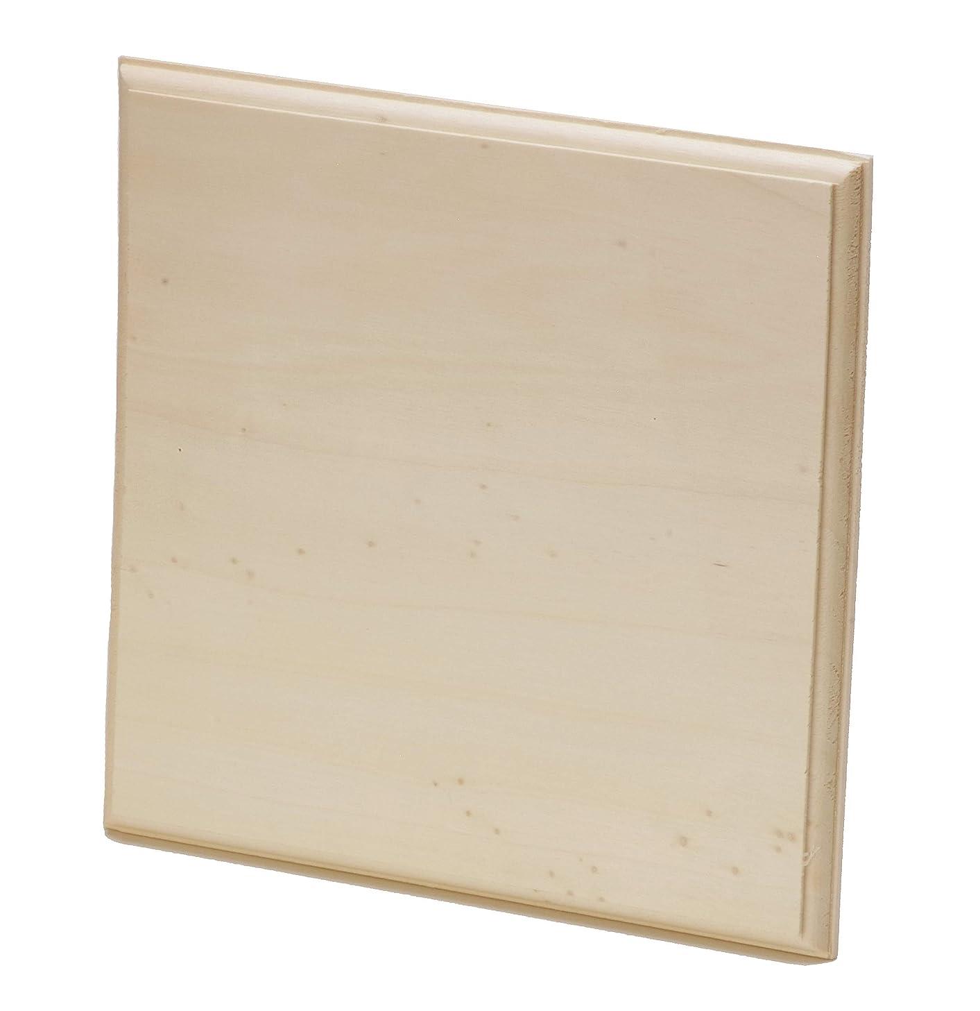 DARICE 9190-133 Wood Plaque Unfin AST, Multicolor