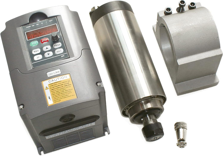 RATTMMOTOR CNC 2.2KW Air Cooled Direct sale of manufacturer φ80mm Motor Attention brand ER20 220V Spindle
