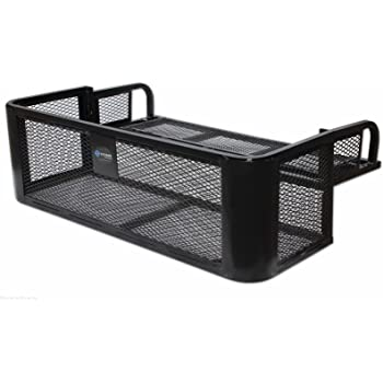 Amazon Com Black Boar 66010 Atv Rear Storage Box And Lounger Integrated Lock Helps Deter Theft Mounting Hardware Included Easily Mountable To Most Tubular Racks Automotive