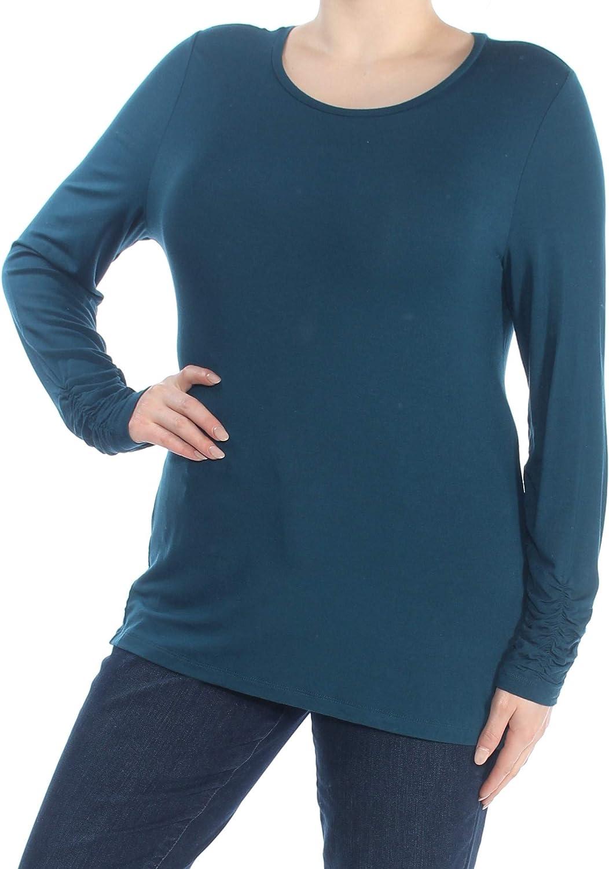 Alfani Women's LongSleeve Ruched Top