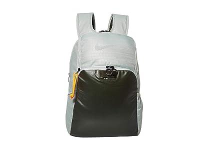 Nike Brasilia Backpack Winterized (Jade Horizon/Sequoia/Metallic Silver) Backpack Bags