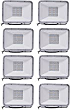 RGB LED Floodlight Waterproof IP66 Coloured Security Lights with Memory Function 16 Colours 4 Modes Outdoor Decorative Lig...