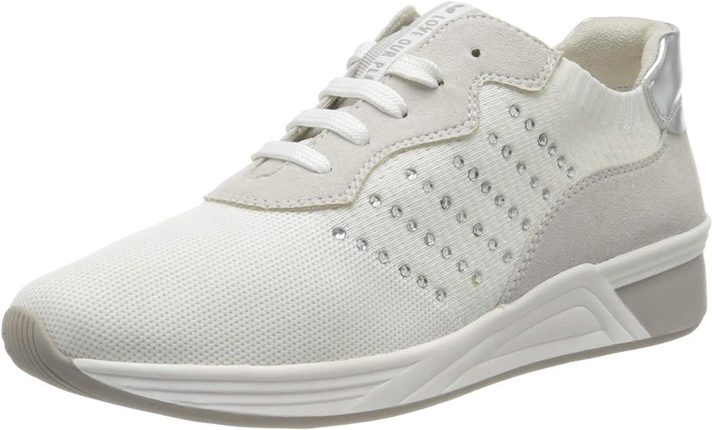 Marco tozzi , scarpe da ginnastica donna,sneakers,in tela 2-2-23784-24