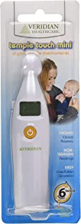 Veridian Healthcare Slim Line Package Mini Temple Touch Thermometer