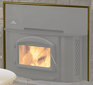 Flashing Surround Trim for Wood Stove Fireplace Screen Inserts