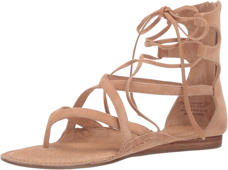 Aerosoles Womens Scrapbook Flat Sandal
