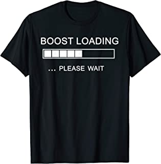 Boost Loading Mexico Racing T-Shirt for Car Enthusiasts