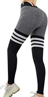 Women's High Waist Seamless Compression Leggings Stretchy Butt Lifting Active Fitness Yoga Pants Workout Tights