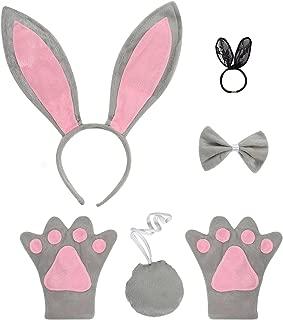 grey bunny ears
