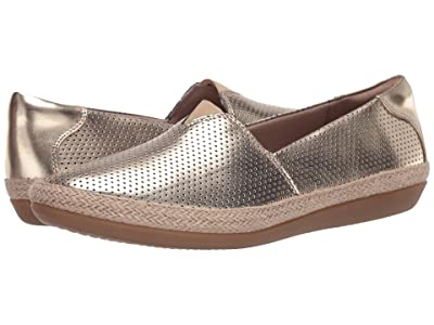 Clarks Danelly Sky (Champagne Synthetic Metallic) Women