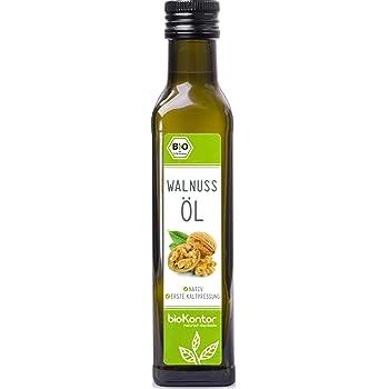 Bio Walnussöl - nativ, 1. Kaltpressung, 100% natur - bioKontor - 250ml