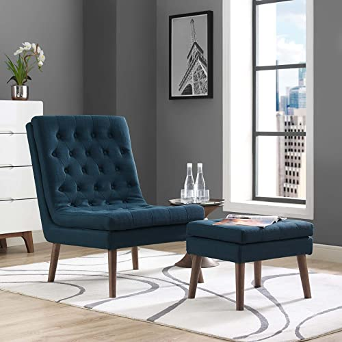 Accent Chair With Ottoman Amazon Com