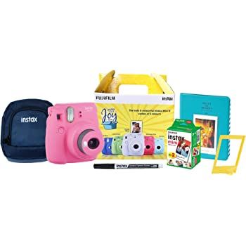Fujifilm Instax Mini 9 Joy Box (Flamingo Pink)