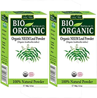 Indus Valley Neem Powder 100% Organic & Chemical Free Hair Cleanser For Healthy Hair (200gm)