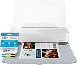 HP Tango X Smart Home Printer with Indigo Linen cover – Designed for your Smartphone with Remote Wireless Printing (3DP64A) with Instant Ink Prepaid Card for 50 100 300 Page per Month Plans (3HZ65AN)