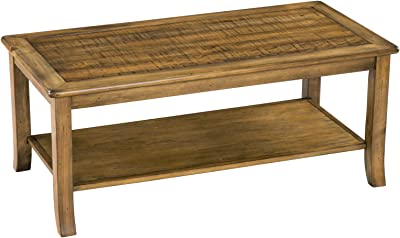 SLEEPLACE Wood Top, Light Brown coffee Table