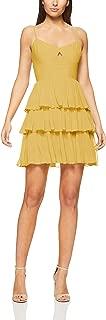 Cooper St Women's Papaya Pleated Mini Dress Papaya Pleated Mini Dress