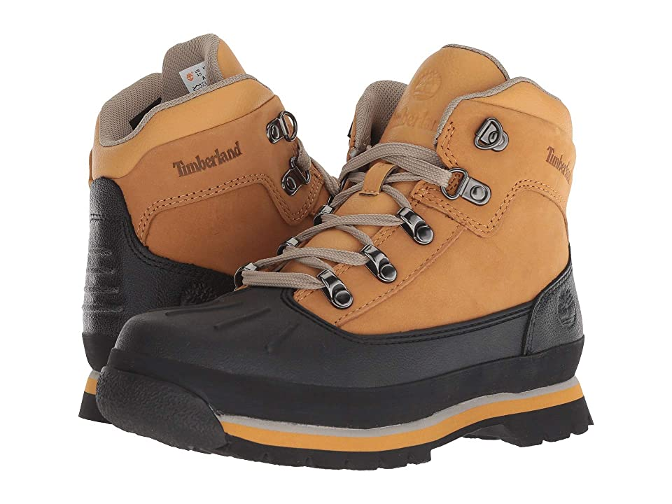 Timberland Kids Euro Hiker Shell Toe (Big Kid) (Wheat Nubuck) Kid