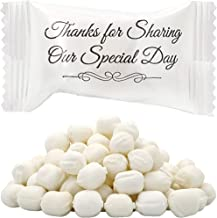 Wedding Buttermints, Mint Candies, After Dinner Mints, Butter Mint Candy, Fat-Free, Individually Wrapped (100 Pieces)
