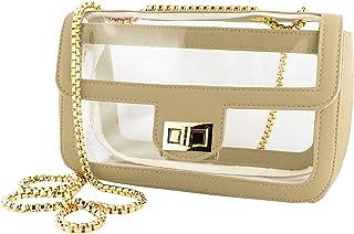 Capri Designs Convertible Crossbody - Clear PVC Bag