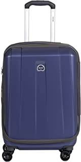 Delsey Luggage Helium Shadow 3.0 21 Inch Carry-On Exp. Spinner Suiter Trolley (One Size, Navy Blue)