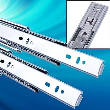Schubladen-Dampfermechanik f/ür H17 H27 H45 mm Metaboxen Rollschienen H35