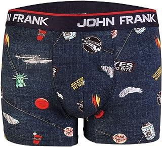 John Frank Men's Printed Boxer Briefs
