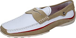 Tod's Loafer Flats Mens Leather White