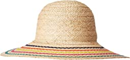 RHL6664 - Raffia Hat with Ric Rac Trim