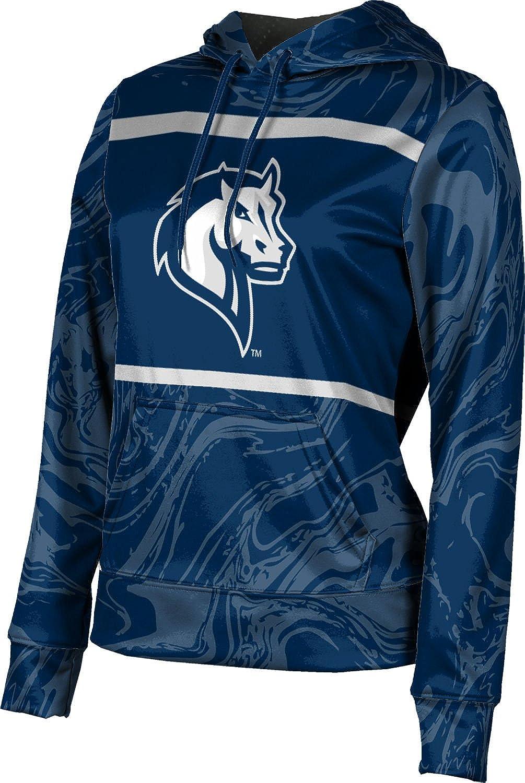 ProSphere Mercy College Girls' Pullover Hoodie, School Spirit Sweatshirt (Ripple)