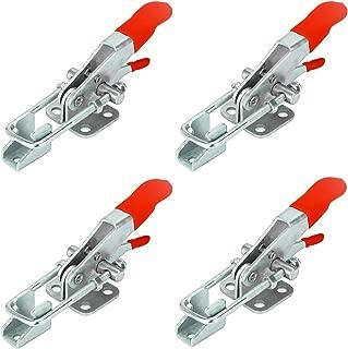 Anndason 800Kg 1700Lbs Holding Capacity Unique Adjustable Self-locking U-Shackle Buckle Toggle Latch Clamp A40123 (4Pcs)