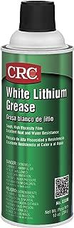 CRC 03080 White Lithium Grease Spray, (Net Weight: 10 oz.) 16oz Aerosol