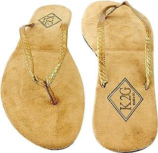 5c509f2718e Amazon.com  Gold - Sandals   Shoes  Clothing