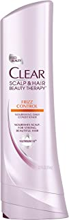 Clear Scalp and Hair Beauty Therapy Frizz Control Nourishing Daily Conditioner, 12.7 Fluid Ounce