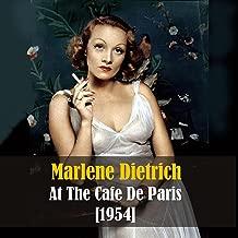 marlene dietrich live at the cafe de paris