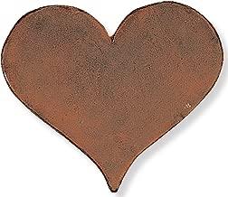 heart shaped garden stone