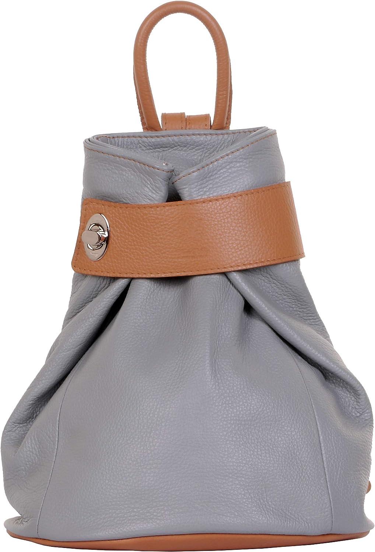 Primo Sacchi Ladies Italian Textured レビューを書けば送料当店負担 Shou Leather 在庫処分 Grey Light Tan