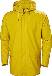 Moss Long Hooded Fully Waterproof Windproof Raincoat Jacket