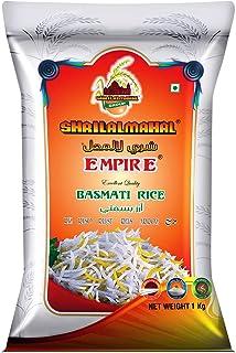 SHRILALMAHAL Empire Basmati Rice (Most Premium) (10Kg : 10 x 1 Kg) | Low Glycemic Index | Gluten Free