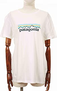Patagonia Pastel P-6 Logo Organic Crew Maglietta Donna