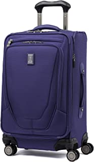 "Travelpro Crew 11 21"" Expandable Spinner Carry-on Suiter Suitcase, Indigo (Blue) - 407166165"